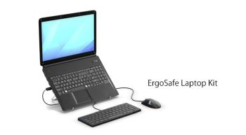 Laptop ergo kit